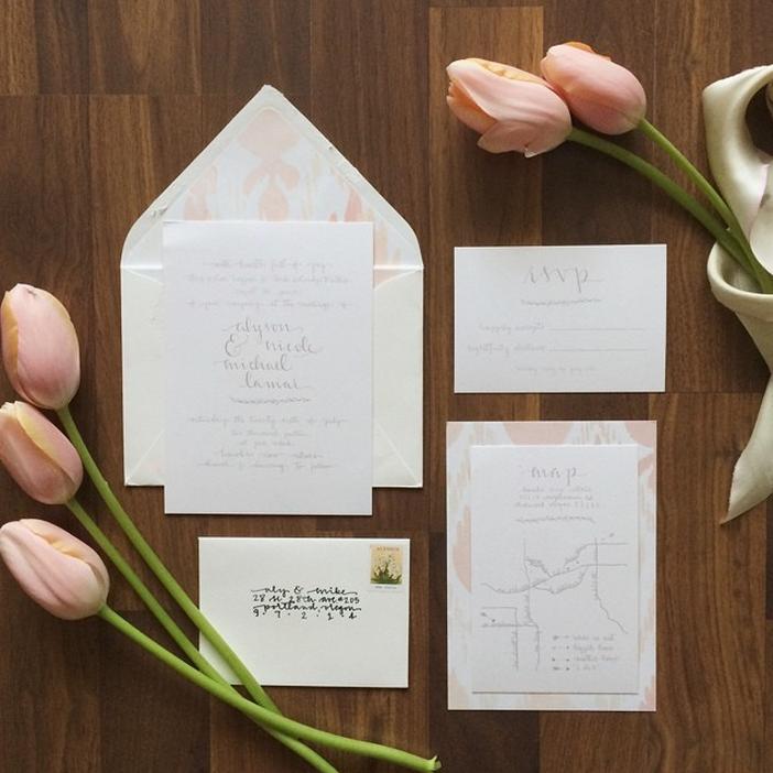 aly's wedding invitations