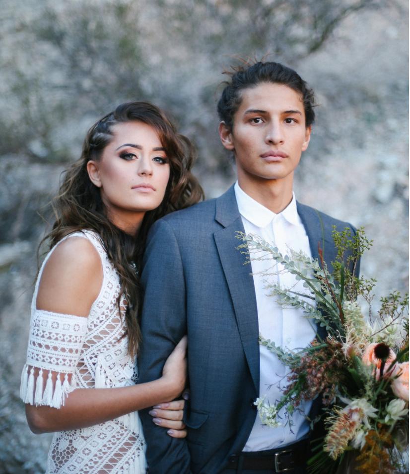 native styled shoot