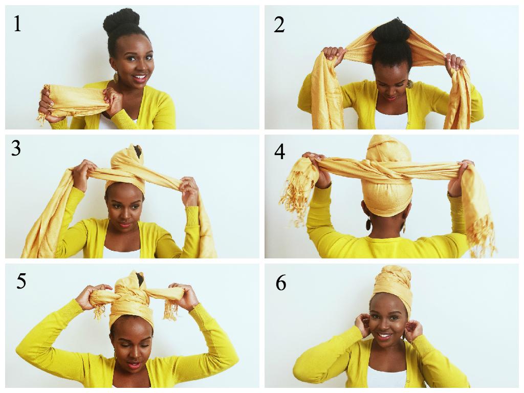 How To Tie A Turban Like Erykah Badu Craving Yellow