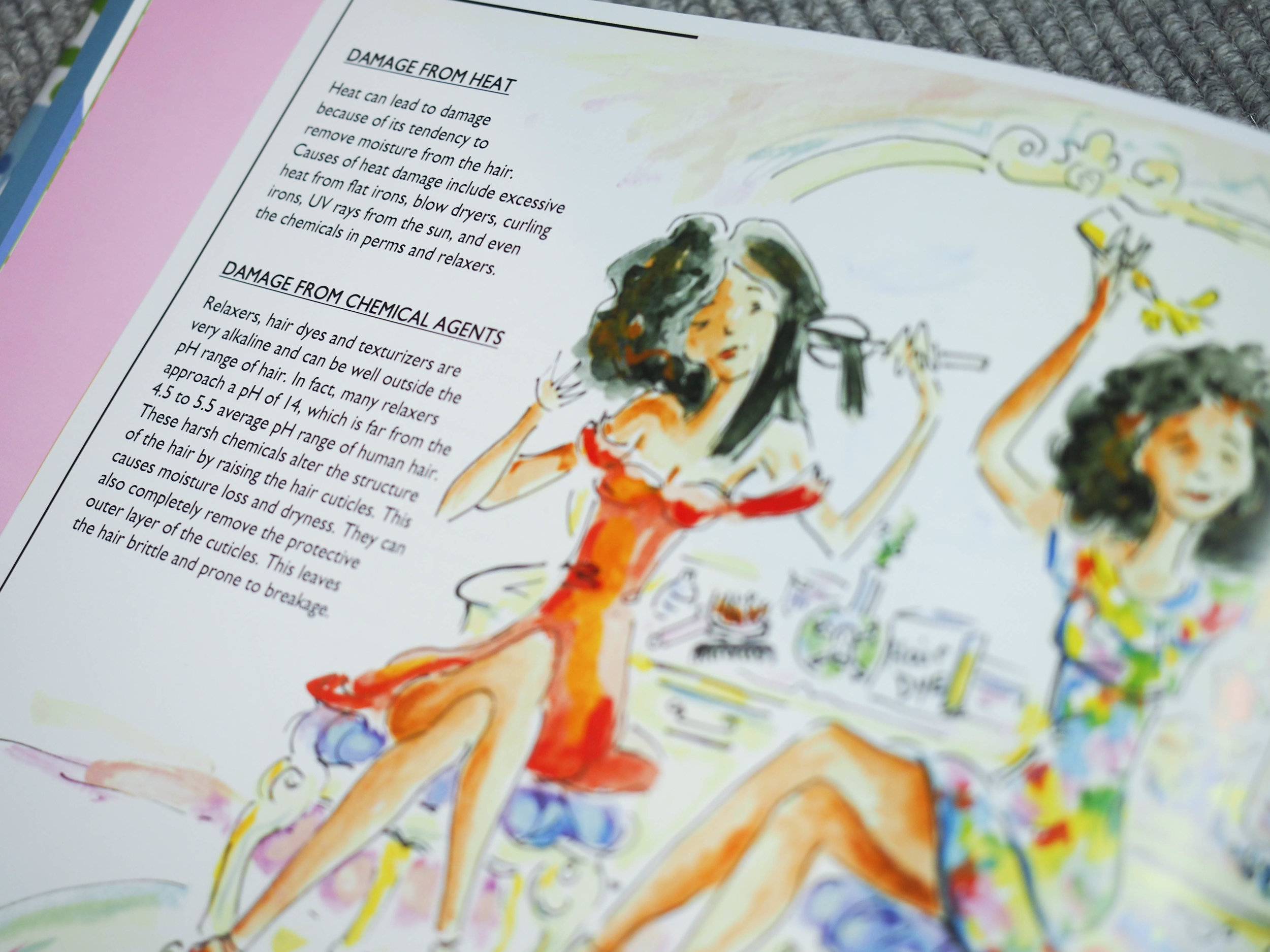 Such pretty illustrations! :-)