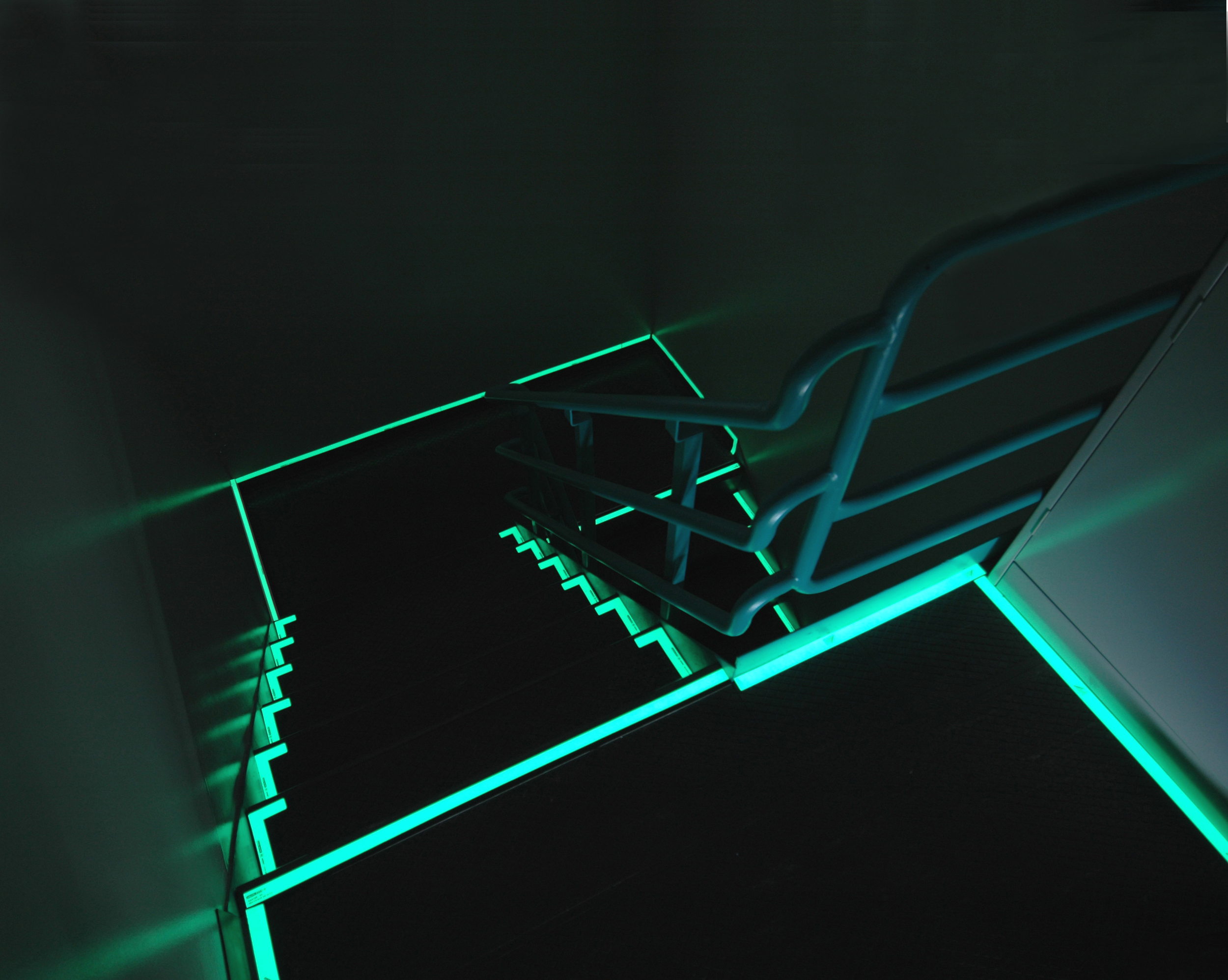 Luminous Stairwell