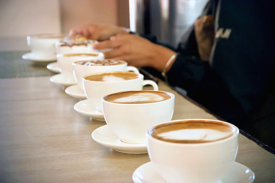 BARISTA TRAINING - Master latte art and find a job as a barista