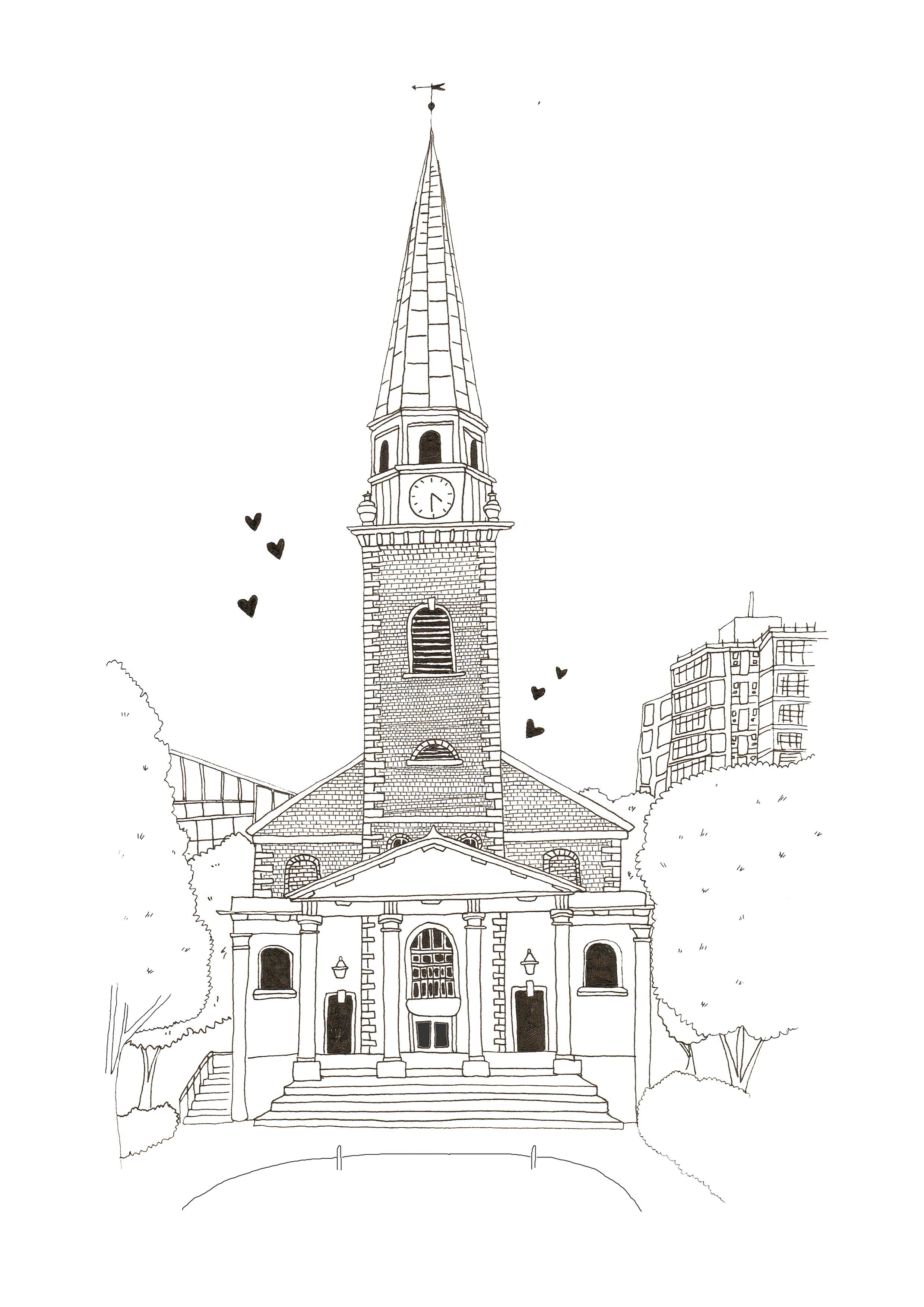 st-marys-church-battersea-illustration