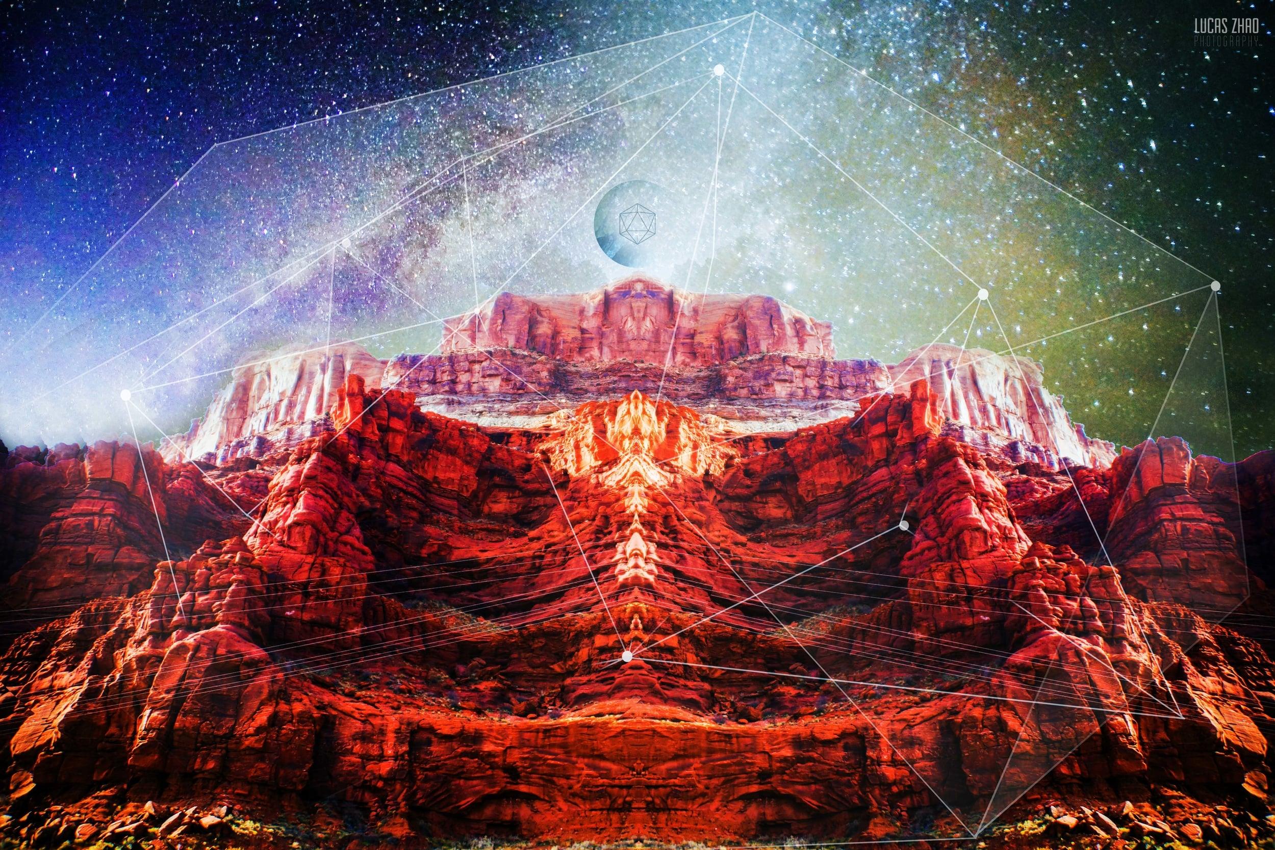 """Enthroned"" - Moab, Utah"