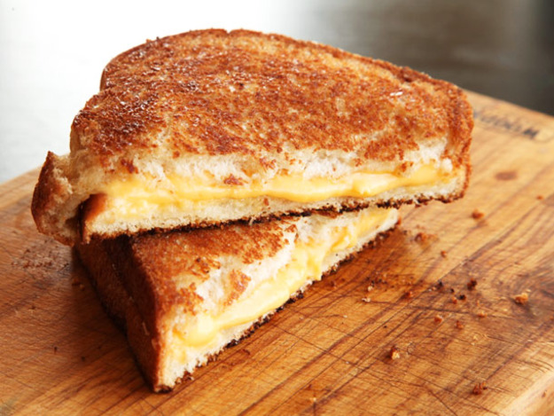 That is a high quality grilled cheese.