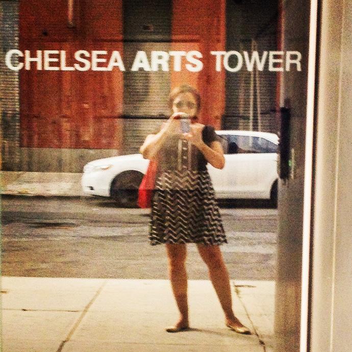 Alvarez on the streets of NYC.