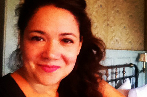 Writer Gessy Alvarez, founder of  Digging Through the Fat