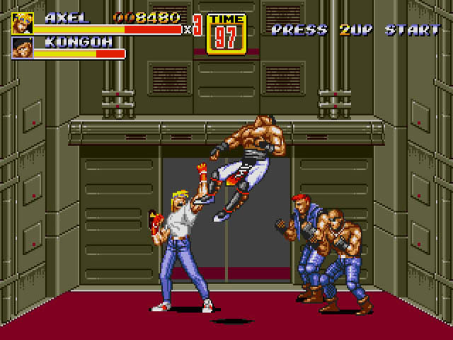 The oddly polite hoodlums of Streets of Rage (Image  © Sega)