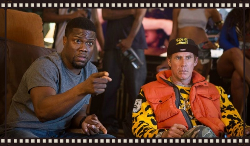 Kevin Hart and Will Ferrell in Get Hard (Image  © Warner Bros.)