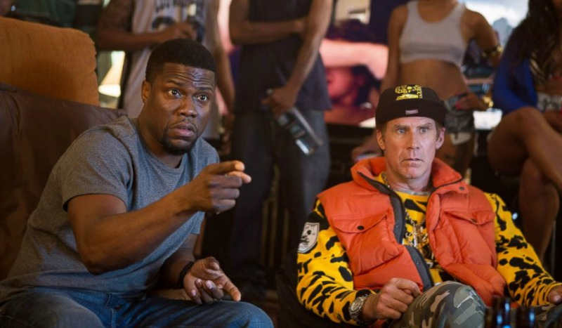 Kevin Hart and Will Ferrell in Get Hard (Image Warner Bros.)