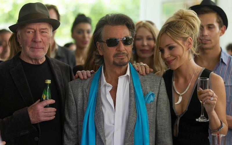 Christopher Plummer, Al Pacino, and Katarina Čas in Danny Collins (Image  © Bleecker Street Media)