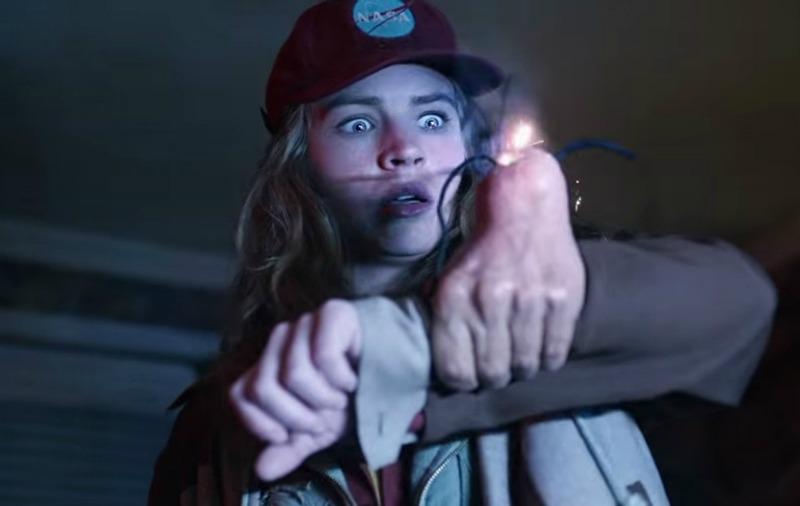 Talented actress Britt Robertson endures some ridiculous bullshit (Image  © Disney).
