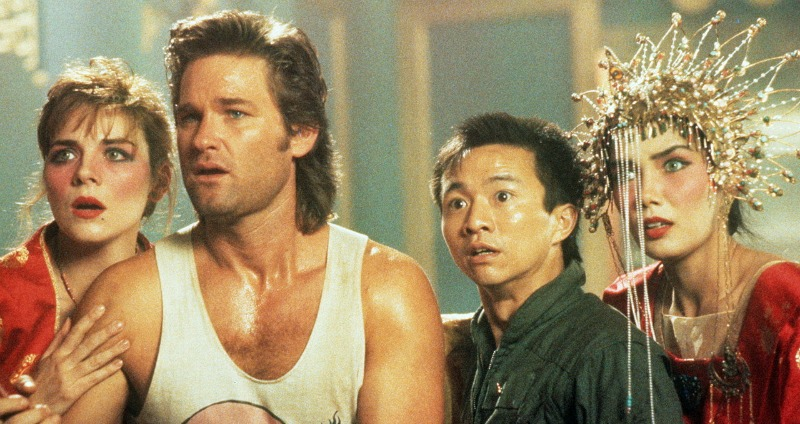 The cast of Big Trouble in Little China (Image  © 20th Century Fox)