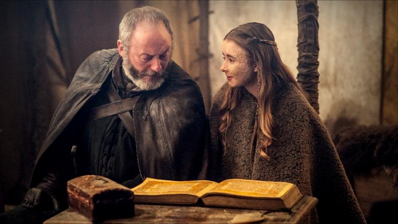 Stannis Baratheon (Stephen Dillane) and his daughter Shireen (Kerry Ingram). (Image  © HBO)
