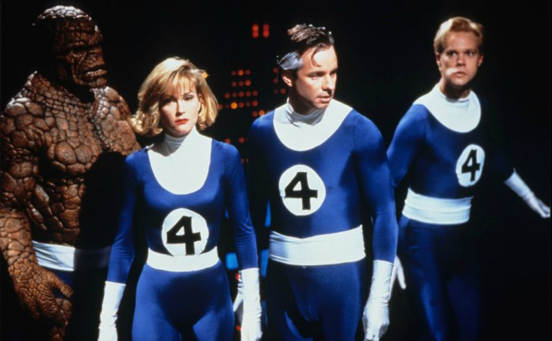 Pictured: the most artistically satisfying film adaptation of The Fantastic Four to date (Image  © Constantin Film Produktion).