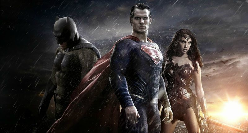 The big three of the new DC Comics Films. Why so serious, guys? (Image  © Warner Bros.)