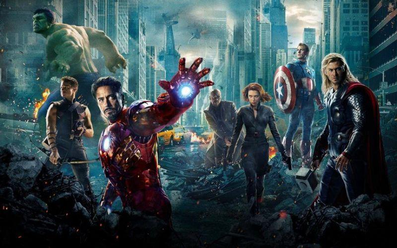 The cast of Marvel's The Avengers (Image  © Marvel).