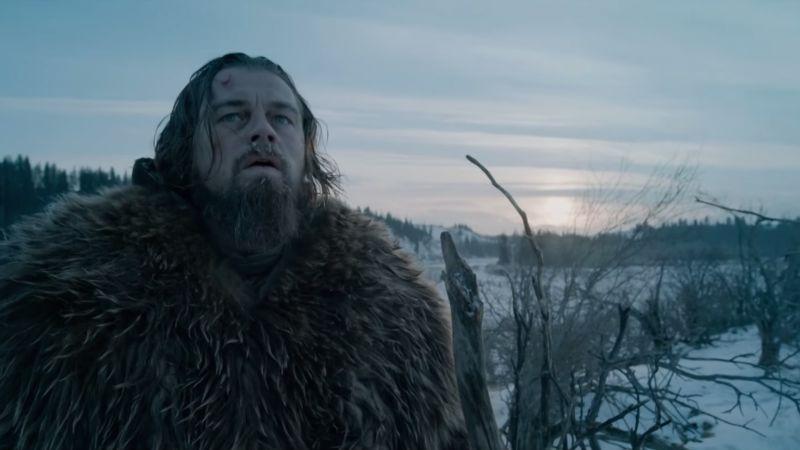 Leonard DiCaprio in The Revenant (Image  © 20th Century Fox).