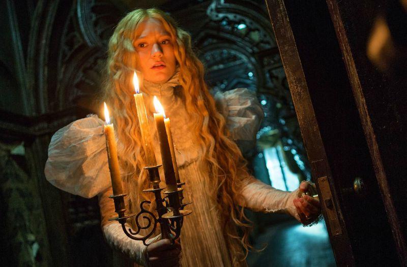 Mia Wasikowska in Crimson Peak (Image  © Universal Pictures).