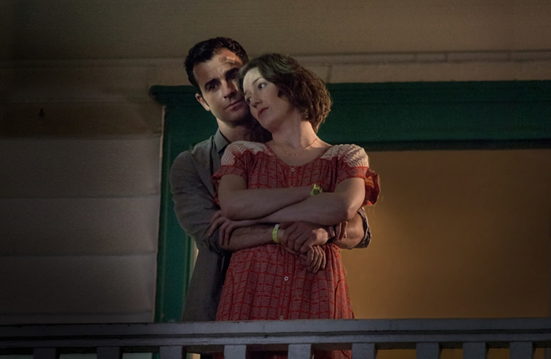 Justin Theroux and Carrie Coons star in Season Two of HBO's  The Leftovers  (Image © HBO).