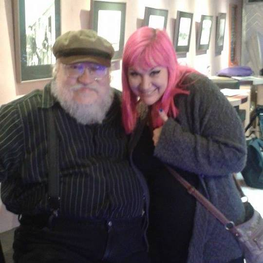 Allie survives a brush with George RR Martin