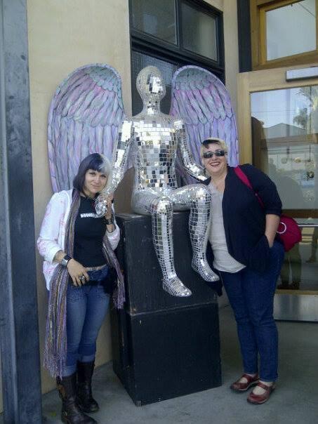 Allie with Lise Quintana.