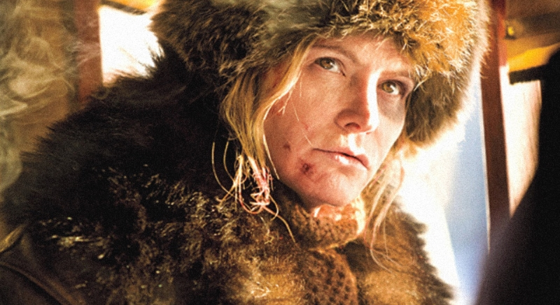 Jennifer Jason Leigh in Quentin Tarantino's  The Hateful Eight  (Image © The Weinstein Company).