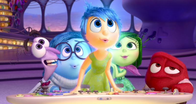 Inside Out  (Image © Pixar/Disney).