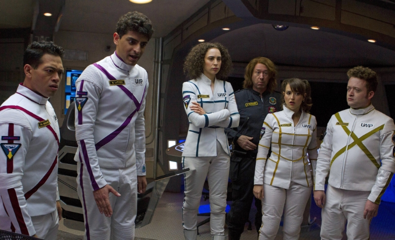 The cast of  Other Space  (Image © Yahoo).