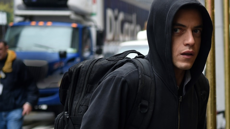 Rami Malek in  Mr. Robot  (Image © USA Network).