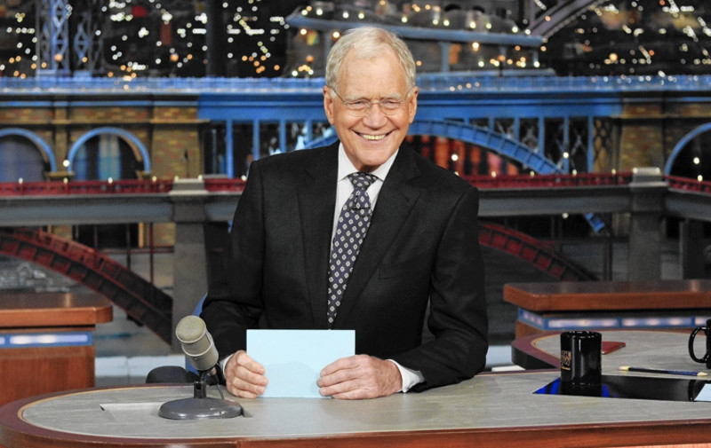 David Letterman says goodbye (Image © CBS).