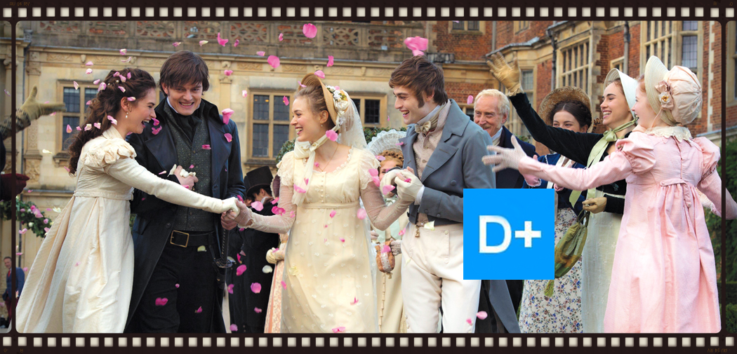 Pride and Prejudice and Zombies  before the zombies.Image  © Lionsgate
