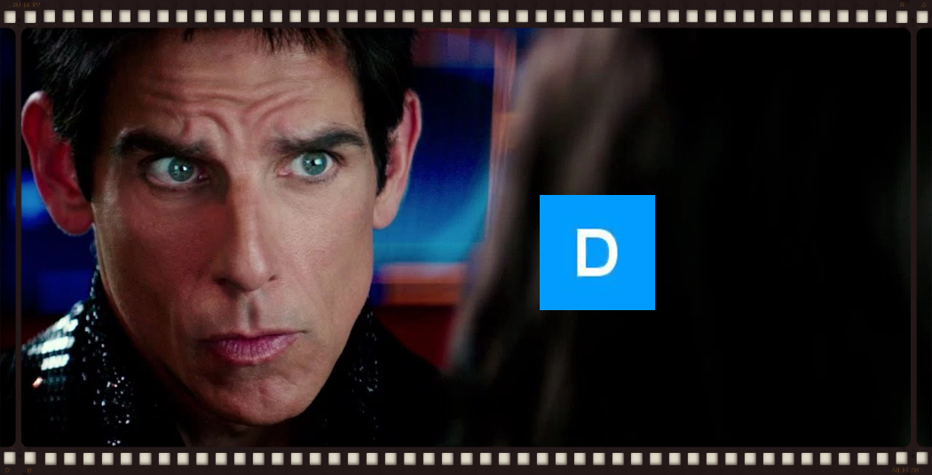 Blue steel can only go so far. Image copyright Paramount Pictures