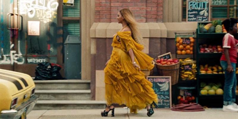 Beyoncé, from her visual album  Lemonade .