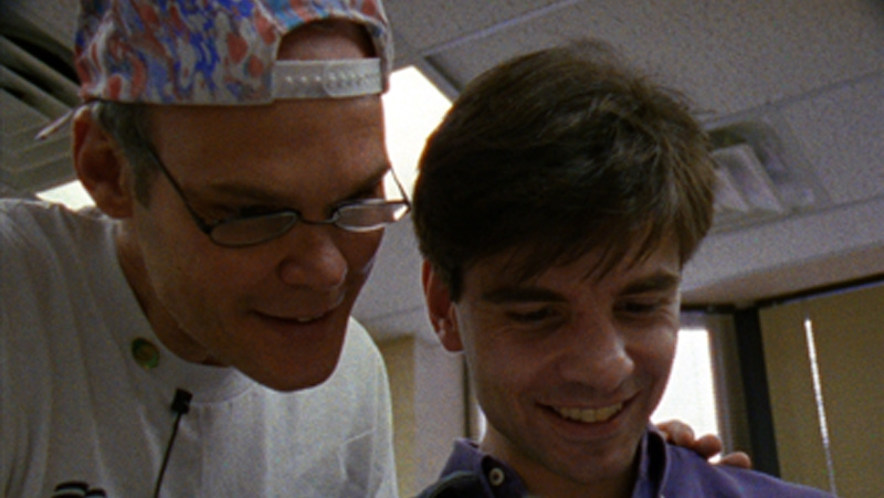 James Carville and George Stephanopoulos in  The War Room (Image  ©  October Films).