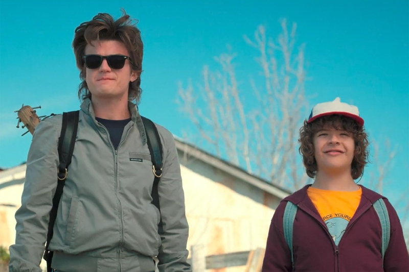 Joe Keery and Gaten Matarazzo (Image © Netflix)