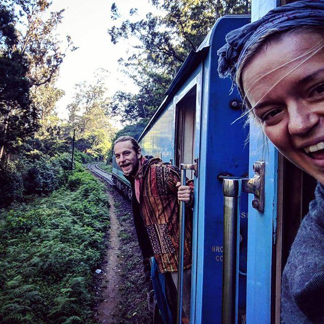 Train Honeymooning.