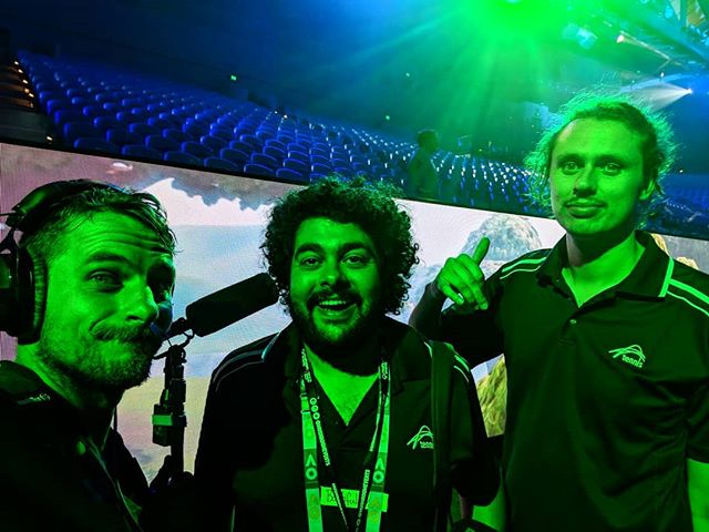 Got to work on a Fortnite Documentary for the Australian Open with these legends over the weekend. . . . #soundforfilm #soundrecordist #australianfilm #documentary #melbourne