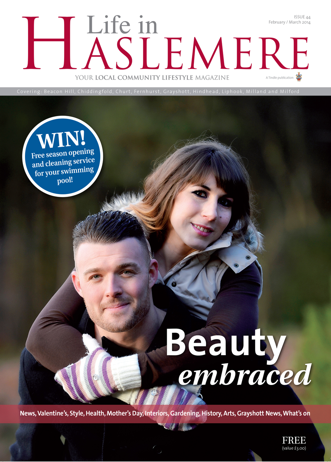 Chosen Front Cover of Life In Haslemere Magazine Image Copyright Gareth Davies/StudioGD Photography