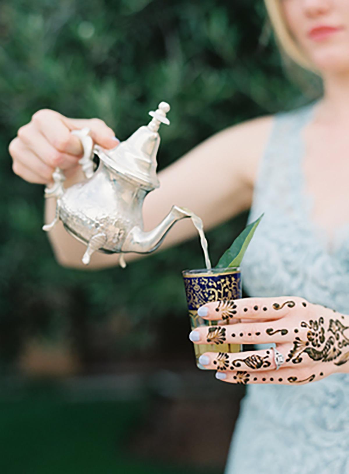 Image: PP. Fresh mint tea