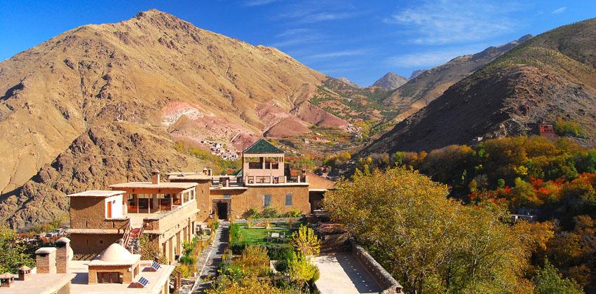 Image: Kasbah du Toubkal, Atlas Mountains