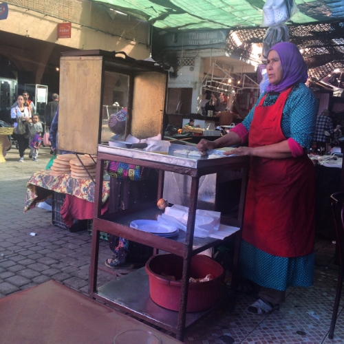 Image: Marie Milligan, Marrakech, November 2015