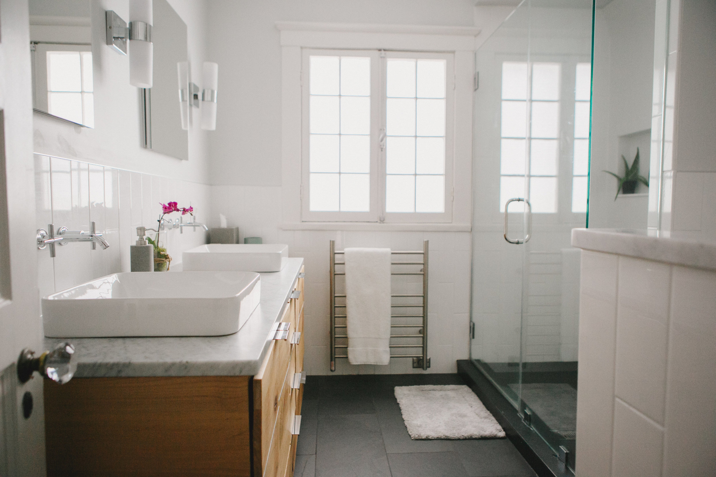 Custom Built Bathroom Vanity In North
