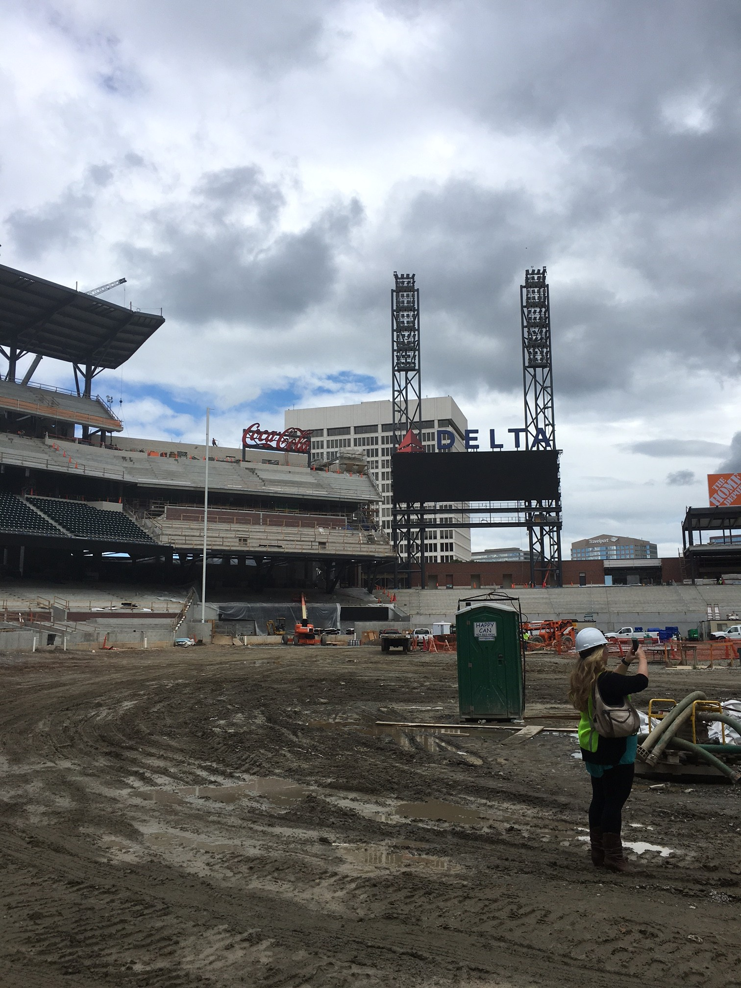 Braves Stadium Site Tour