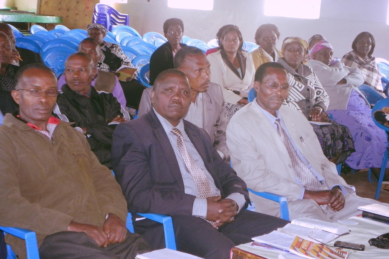 Leadership Training in Kabazi, Nakuru County