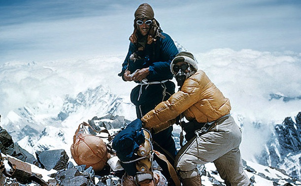 Hillary and Norgay, Everest, 1953 -