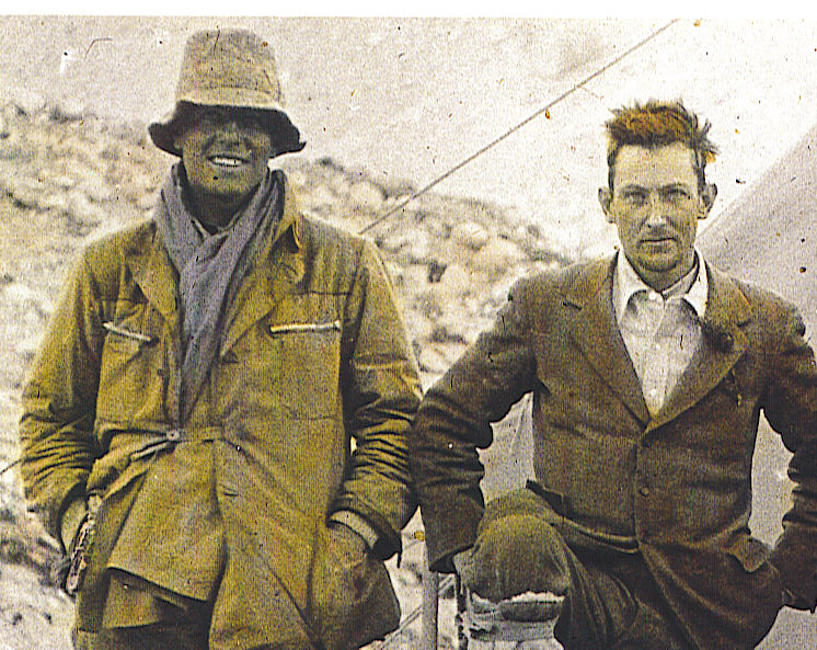 Mallory and Irvine and Base Camp, 1924 -