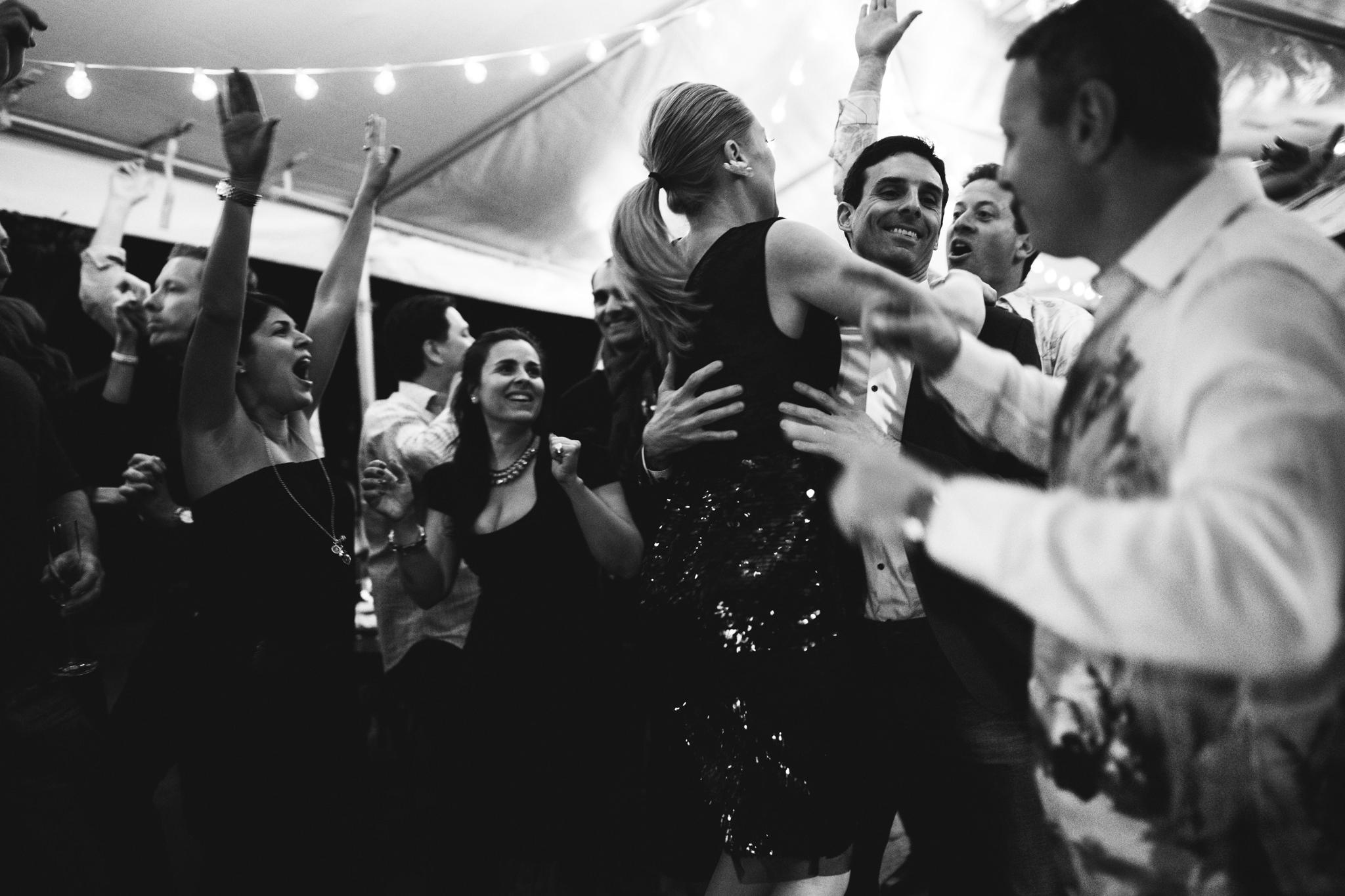 Portland Wedding Celebration Under a Tent