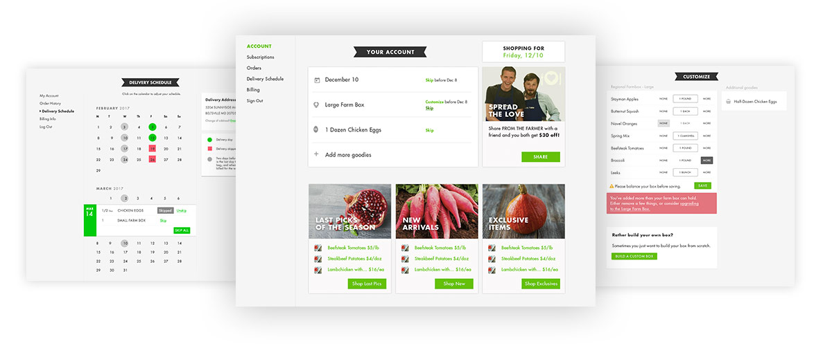 ui/ux design from the farmer sos media design company boulder co