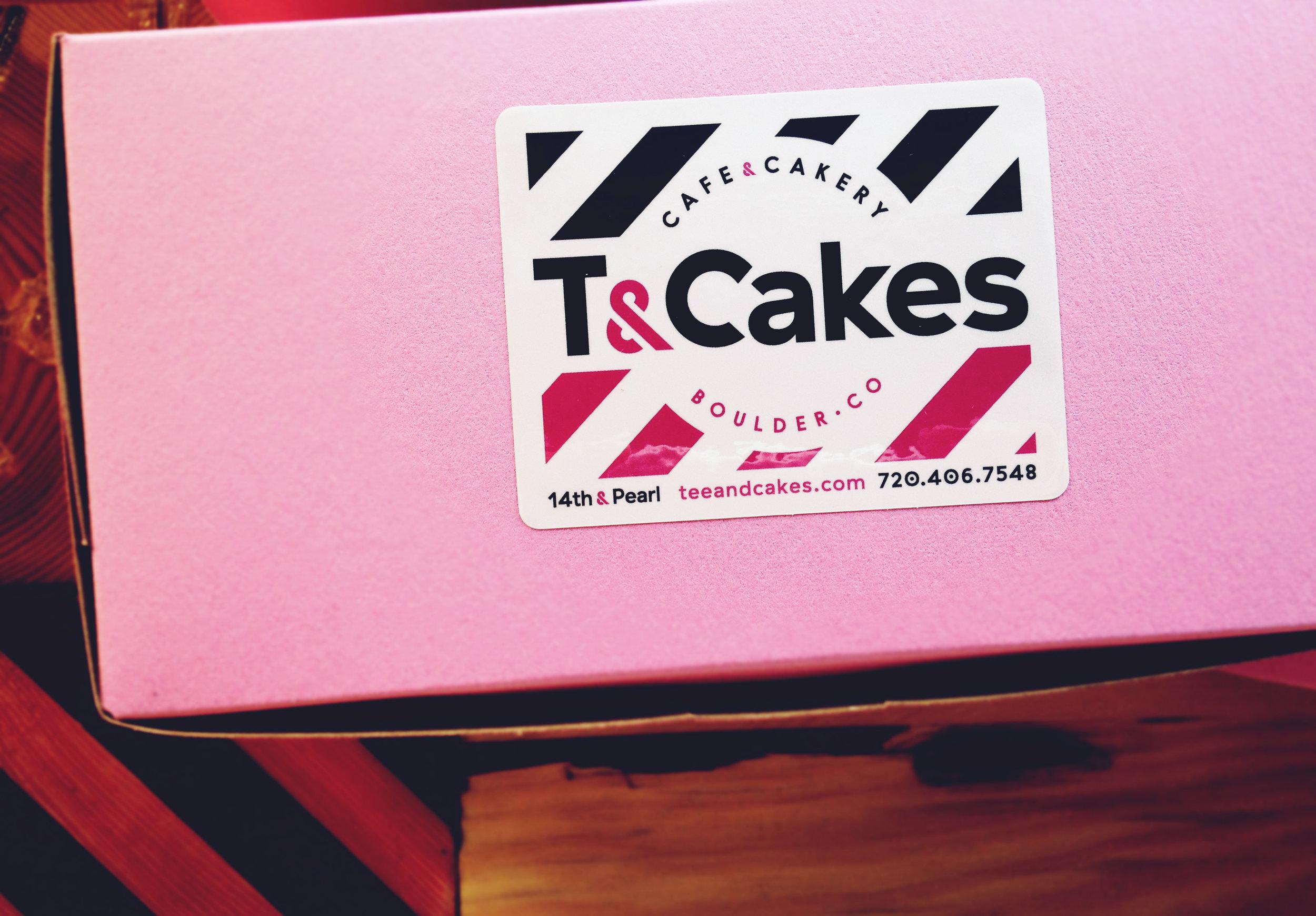SOS Media Cafe Branding T&Cakes Boulder CO